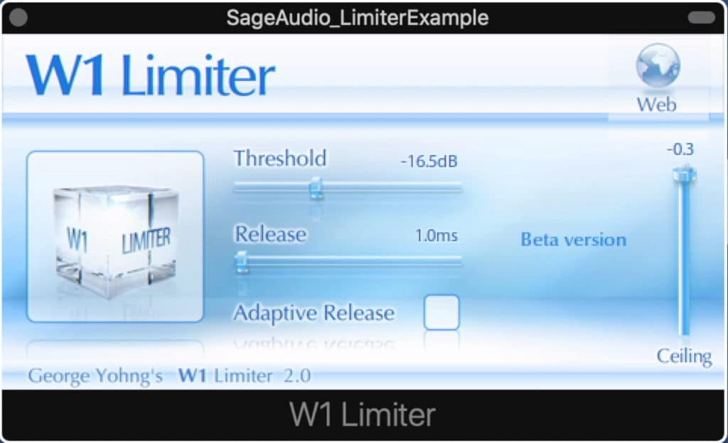 The W1 Limiter is a lot like the Waves L1 limiter.