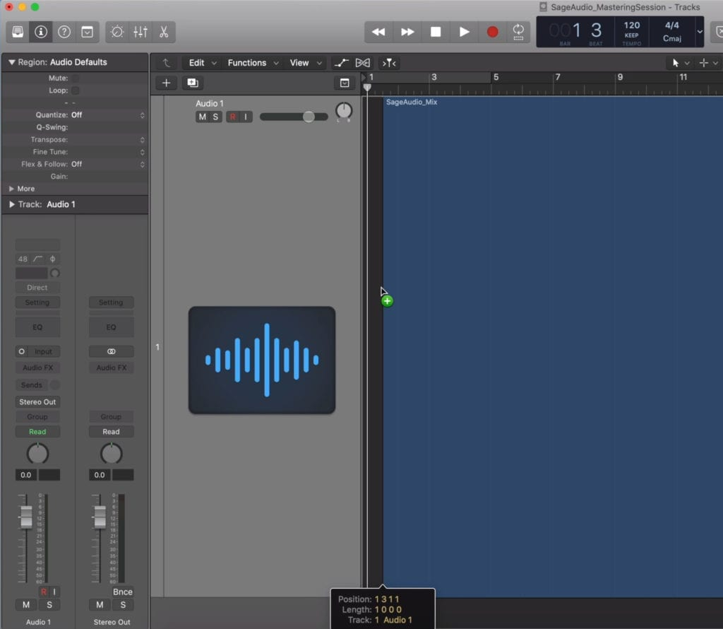 Import your mix into your DAW.