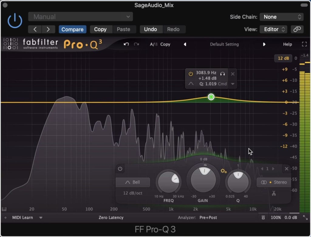 What you amplify will depend on your mix and master.