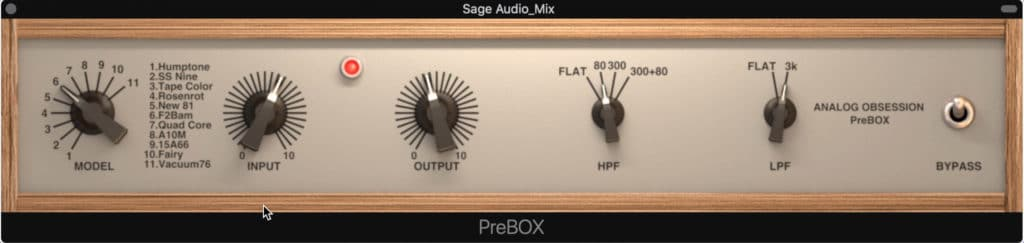 Pictured is PreBox by Analog Obsession.