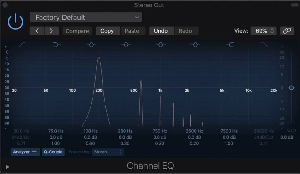 These are some of the harmonics that can be generated by using the plugin.