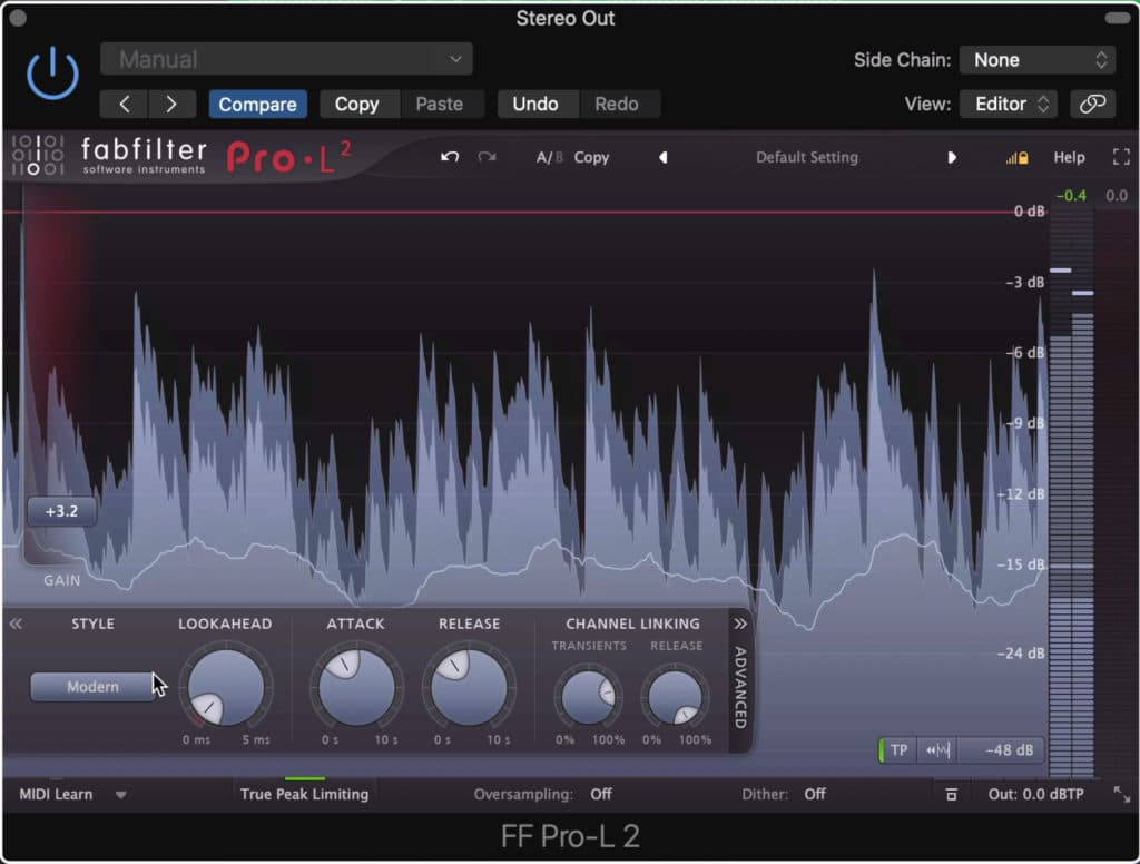 """Although it's become a popular trend, try not to mix with a limiter on the output to """"preview mastering."""""""