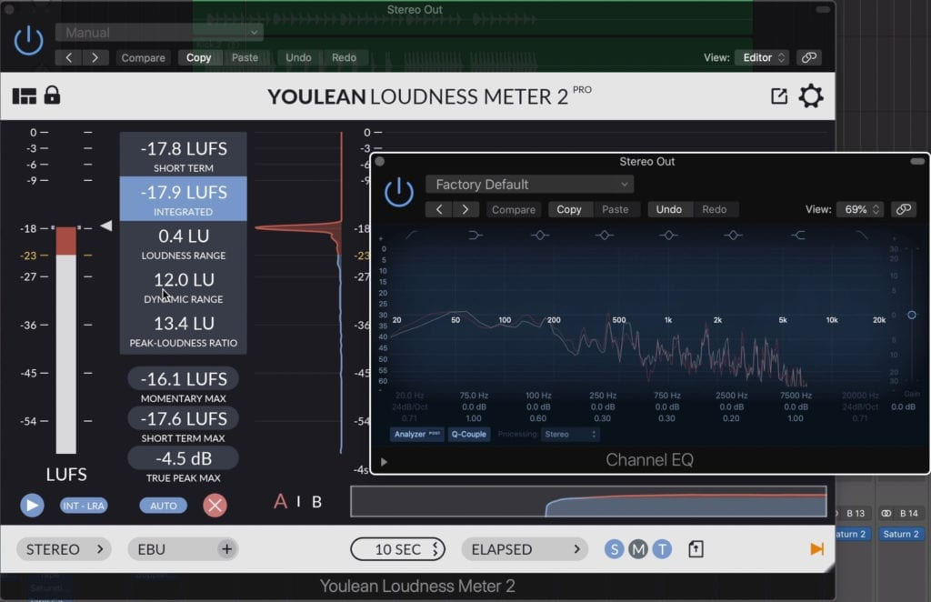 Exporting a mix at its original settings ensures that both the frequency range and dynamic range remain intact.