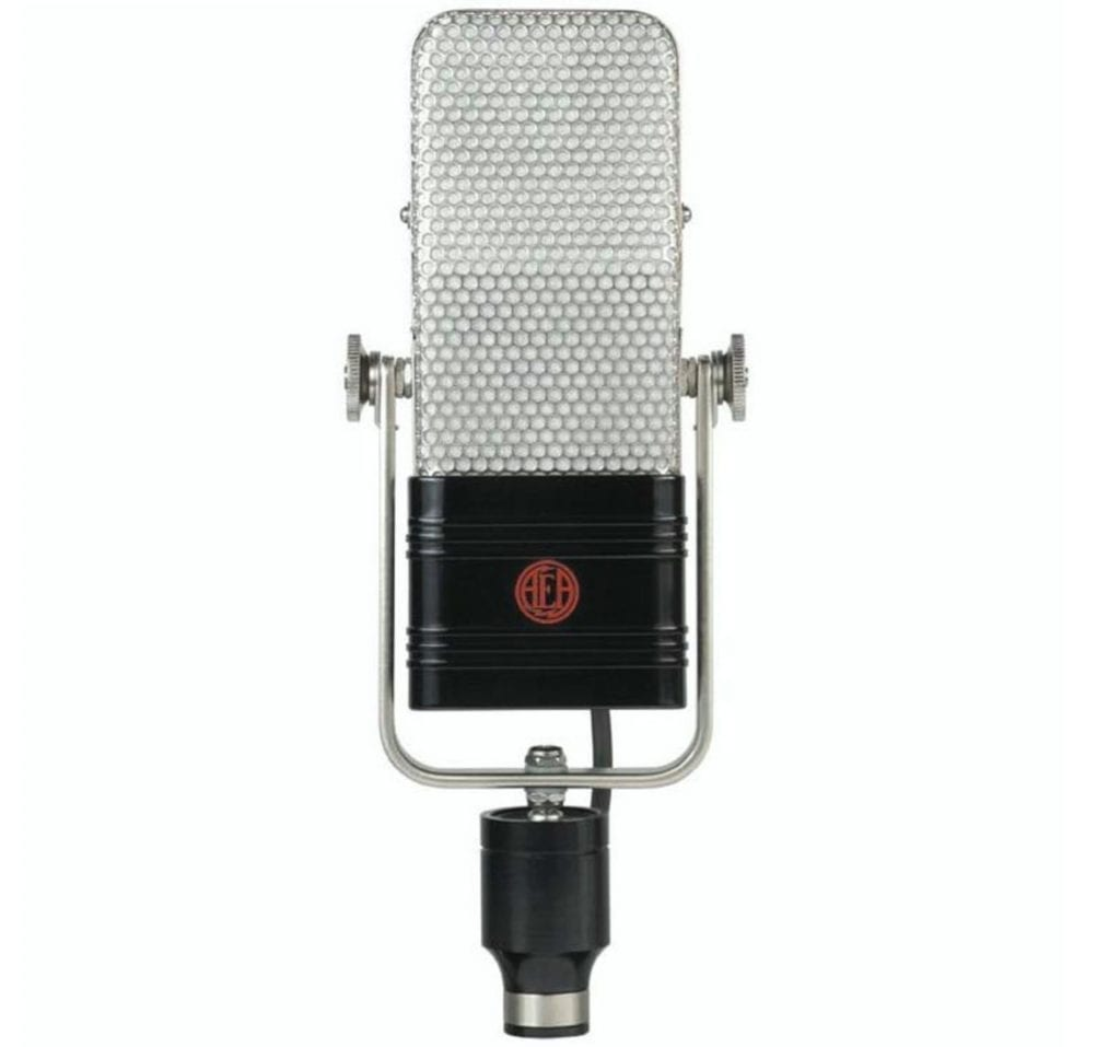 Ribbon microphones offer classic tonality and a subdued frequency response.
