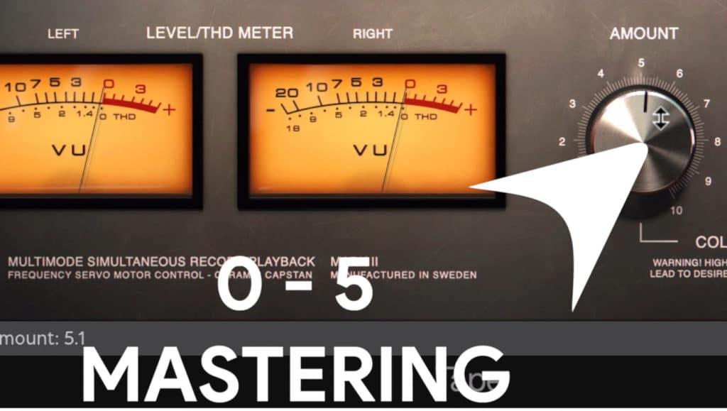 Lower levels are better to use for mastering.