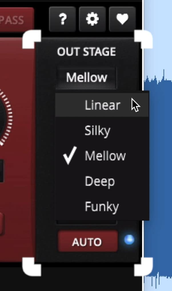 On the right side of the plugin you can control the amount of distortion.