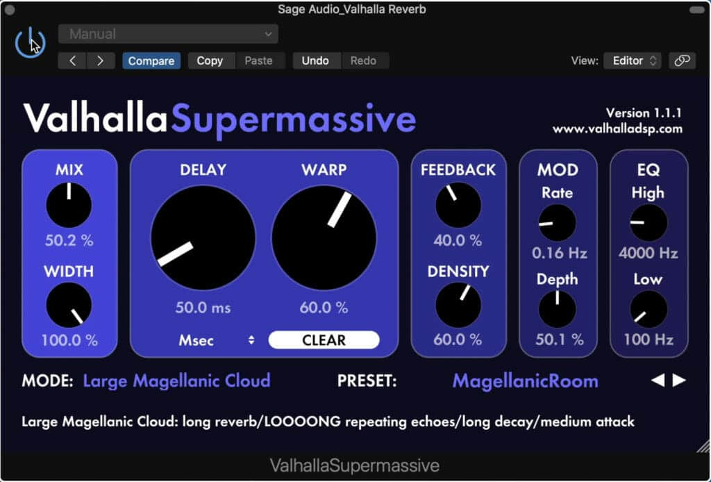 The design of the Supermassive is simple, but offers a lot of flexibility.