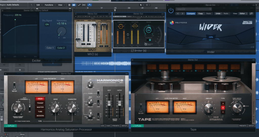 These are the 6 plugins we'll be covering here.