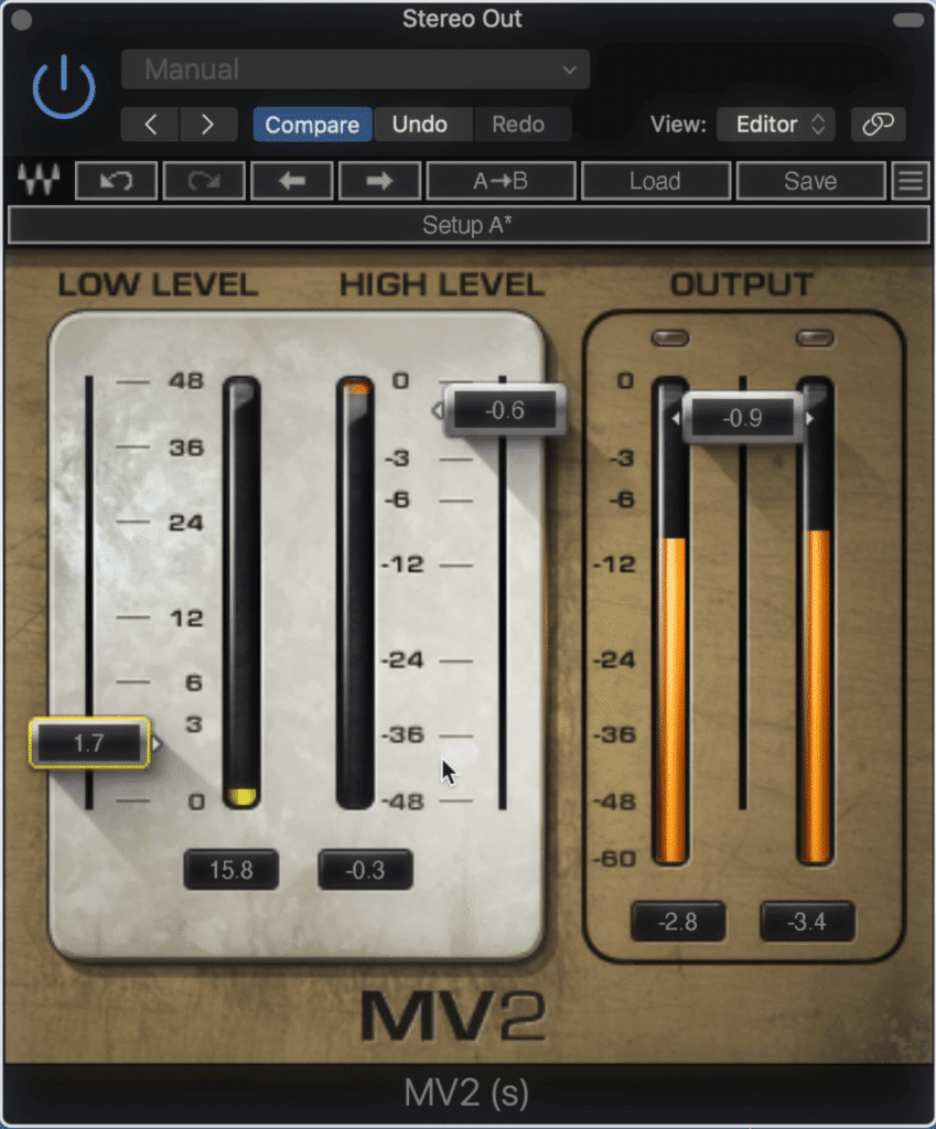 The MV2 introduces low-level compression.