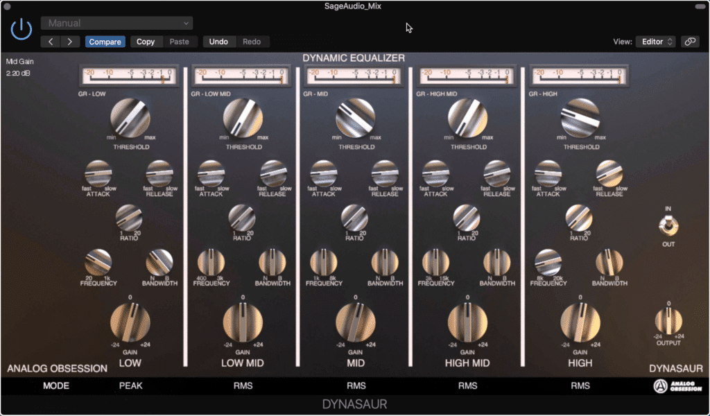 It's rare to find a multi-band compressor that's free.  This one is great for mastering.