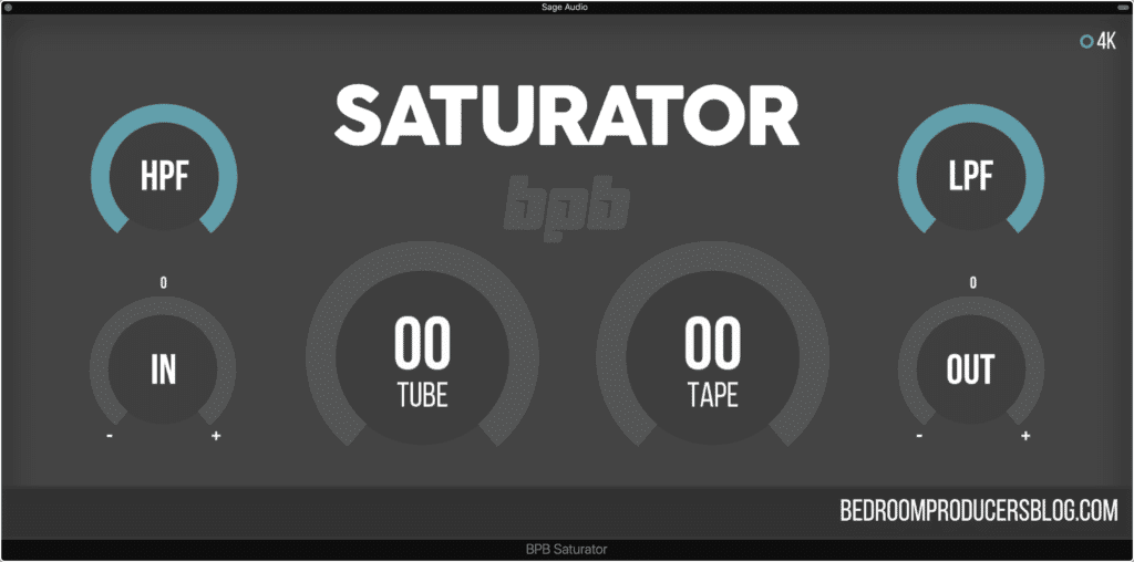 The BPB Saturator can be subtle enough for a mixbus and aggressive enough to complete distort a signal.