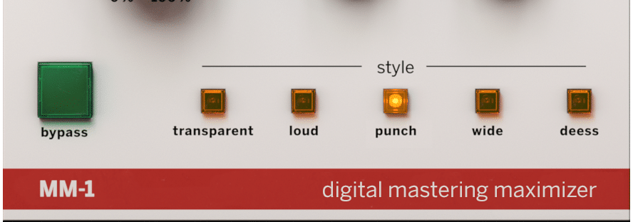The plugin offers 5 different styles.